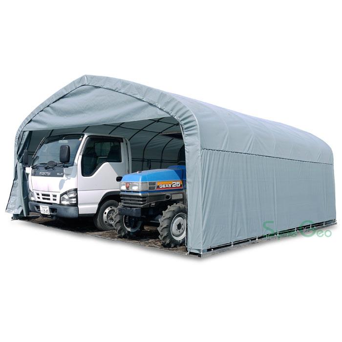 パイプ倉庫(組立セット)GR-308(9.3坪)