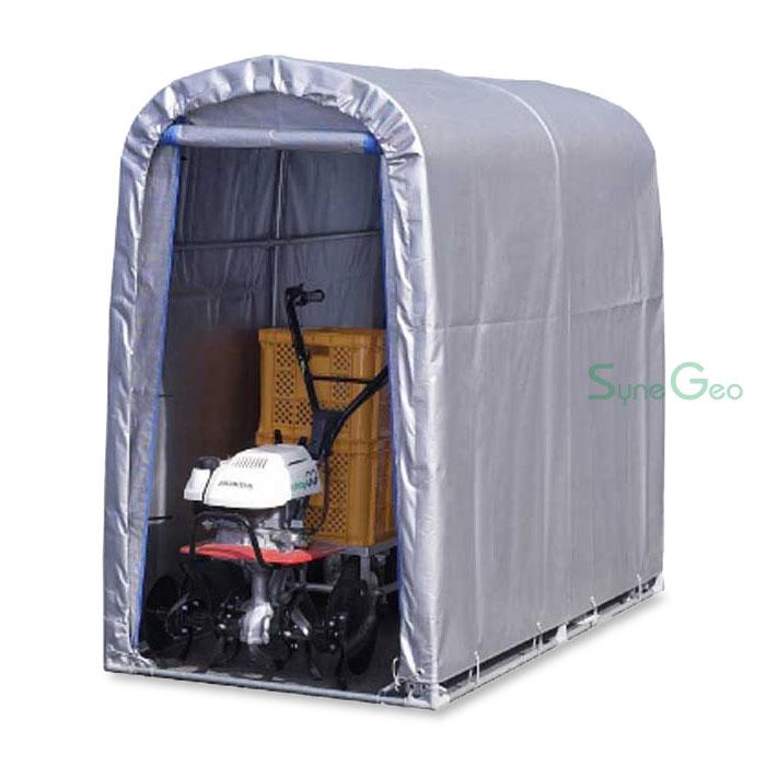 パイプ倉庫(組立セット)SN3-SVU(0.5坪)