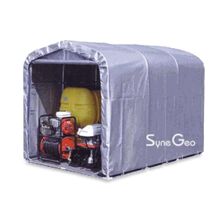 パイプ倉庫(組立セット)SN4-SVU(1坪)