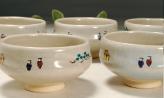 奈良絵 小茶碗B横からの写真