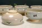 奈良絵 小茶碗B裏&横からの写真