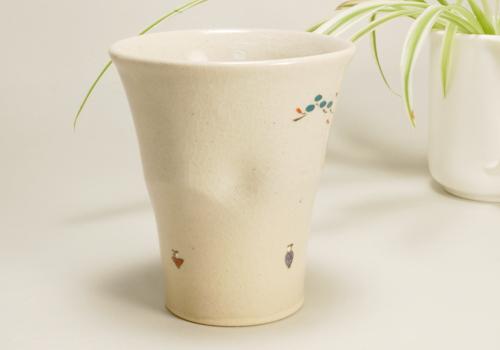 奈良絵 ビアカップ写真01