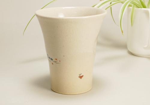 奈良絵 ビアカップ写真02