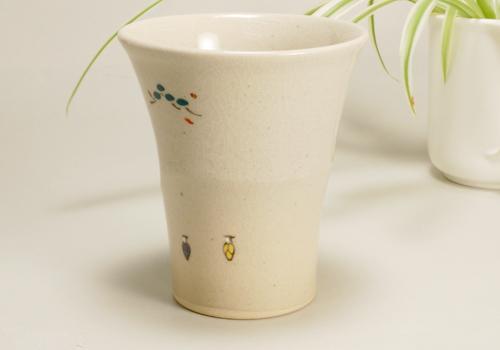 奈良絵 ビアカップ写真04