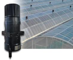 ハウス用・無動力自動換気扇セット空動扇