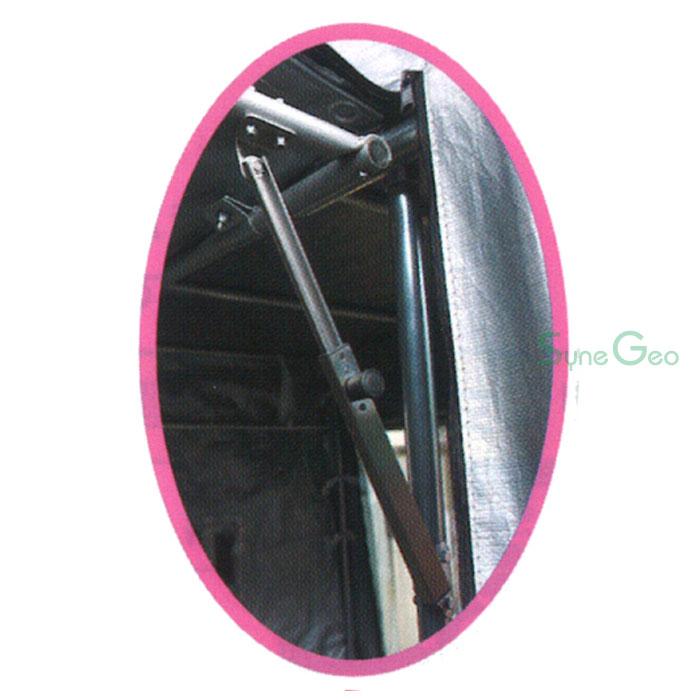 跳ね上げ扉を支える伸縮構造 フラップステー(4個付き)
