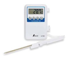 デジタル温度計 H-1 隔測式プローブ (防水型)