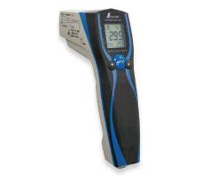 放射温度計 E (防水/防塵 デュアルレーザーポイント 放射率可変機能付き)